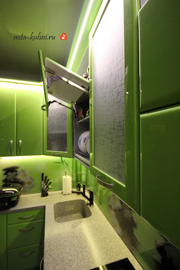 AVENTOS HF в кухонном гарнитуре