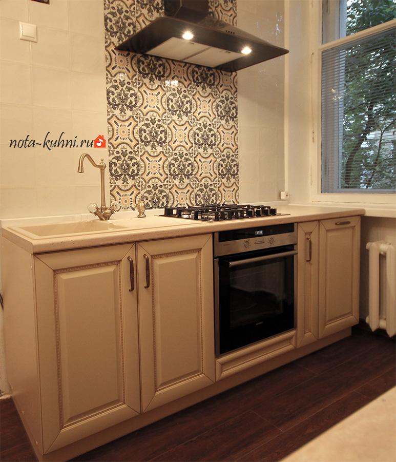Кухонный гарнитур из березы
