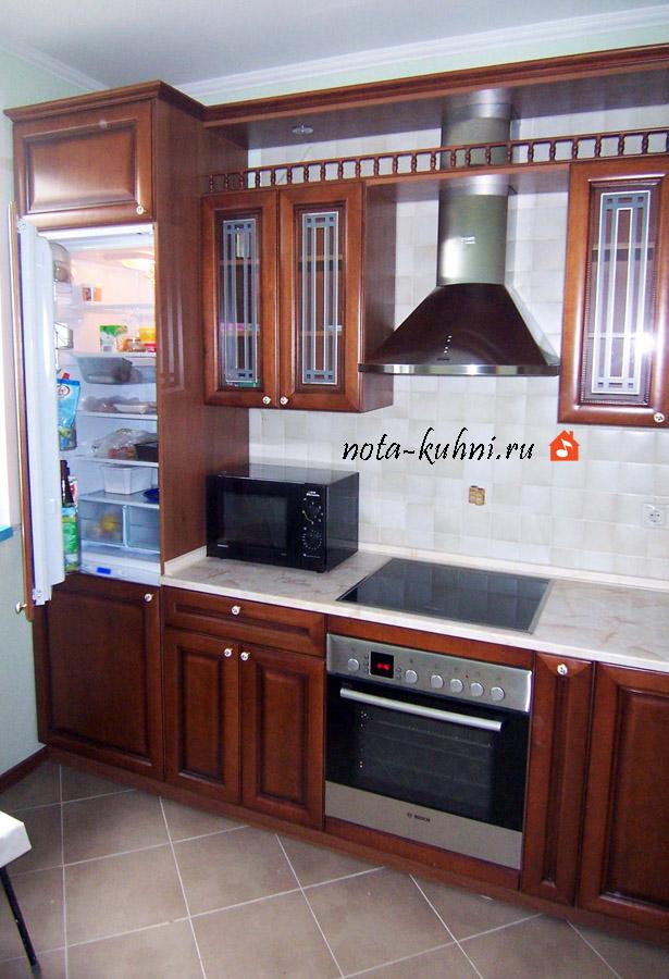 Деревянные кухонные гарнитуры от производителя на заказ