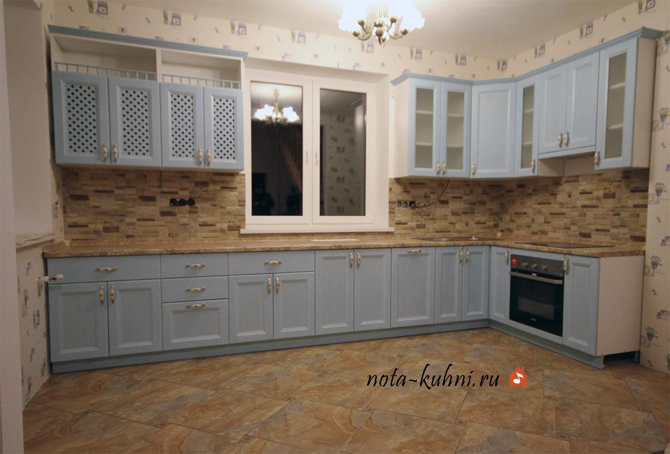Кухни в стиле Прованс на заказ