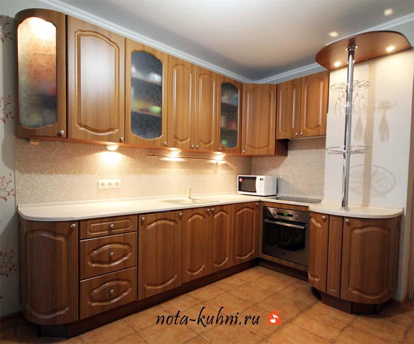 Кухни под пвх недорого Москва