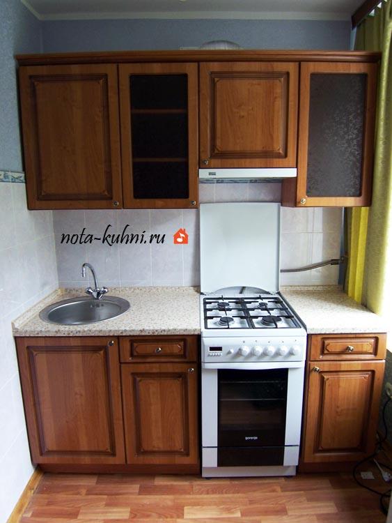 Маленькие кухни из МДФ ПВХ на заказ