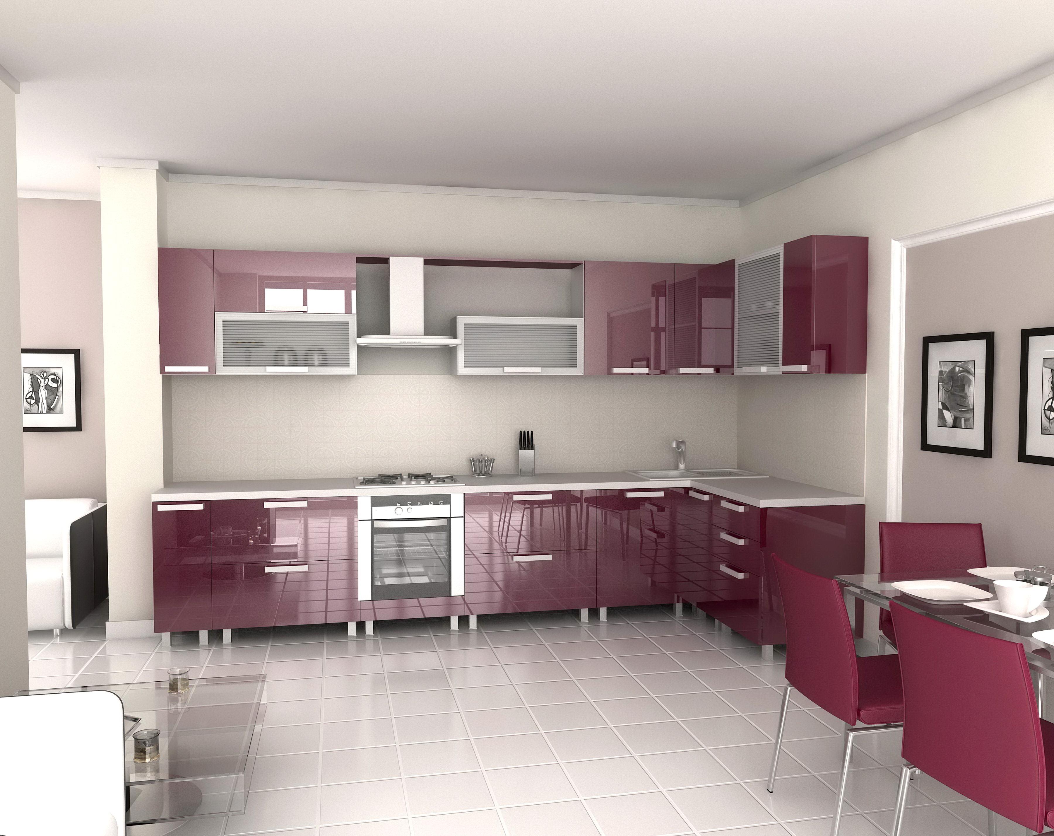 Кухни акрил недорого Москва
