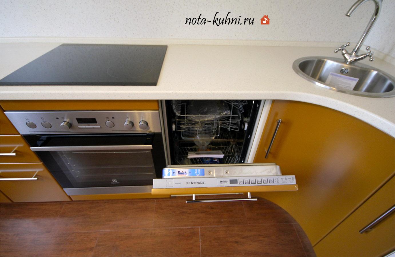 Кухня мдф эмаль на заказ от производителя
