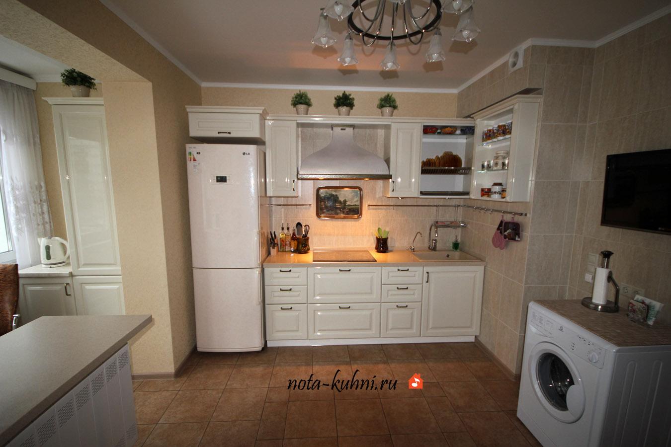 кухни на заказ классика
