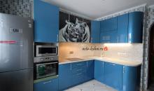 Кухня с фотопечатью Дуэт