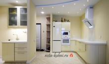 Кухня эмаль в стиле модерн