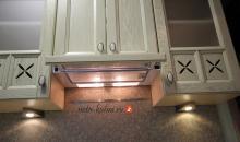 Кухни прованс с встраиваемой вытяжкой