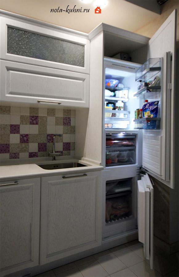 «Модерато» - стильная кухня из массива дуба на заказ
