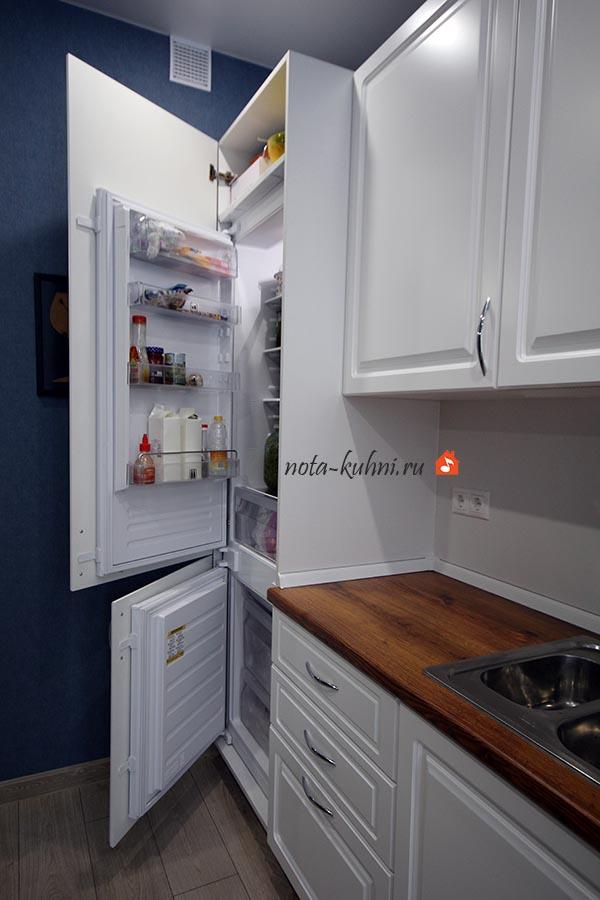 Кухни МДФ под эмалью недорого на заказ Москва