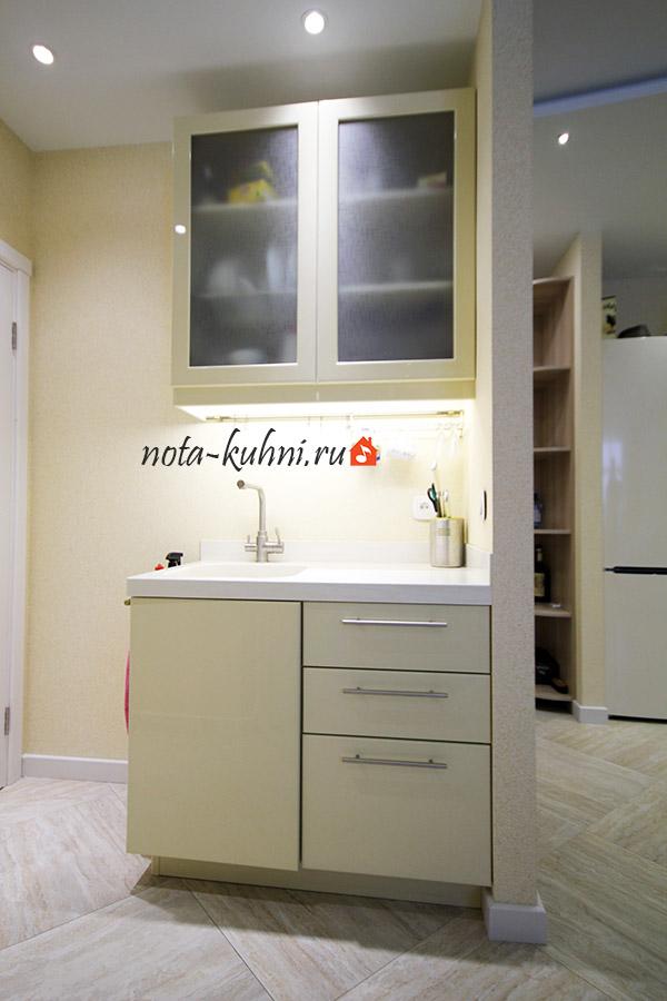 Кухни мдф эмаль на заказ от производителя Москва