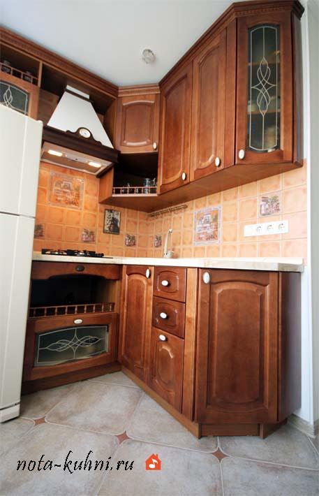Кухни из массива дерева Москва