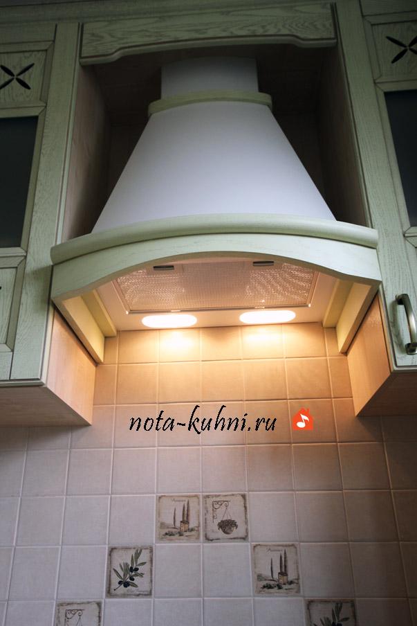 Кухни в стиле Прованс из дуба от производителя