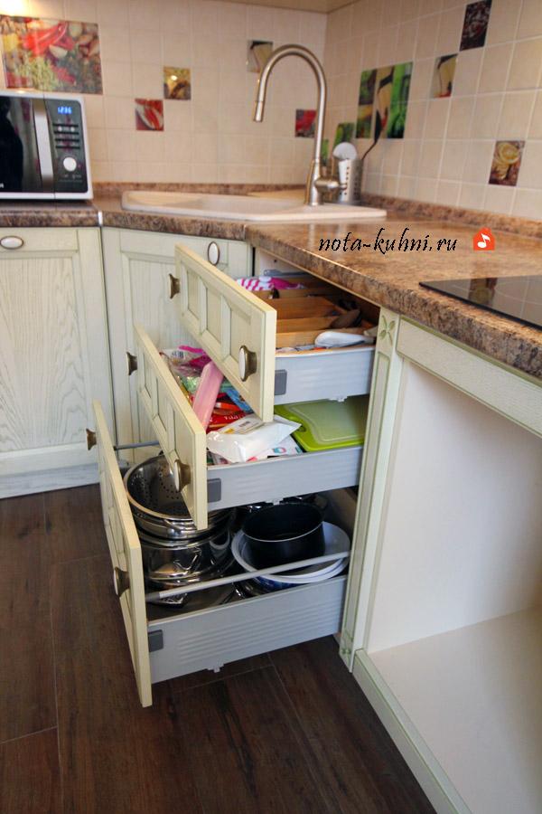 Кухни в стиле Прованс на заказ недорого