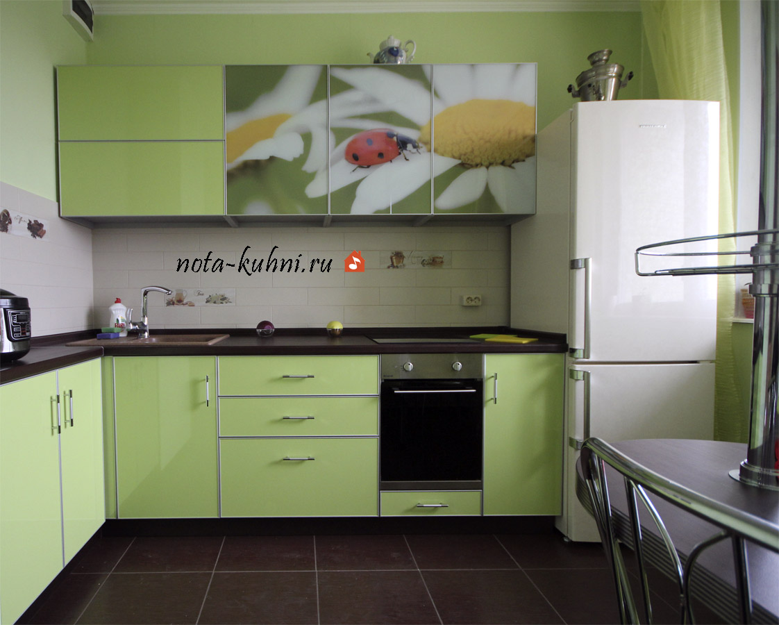 Кухни пластик на заказ недорого