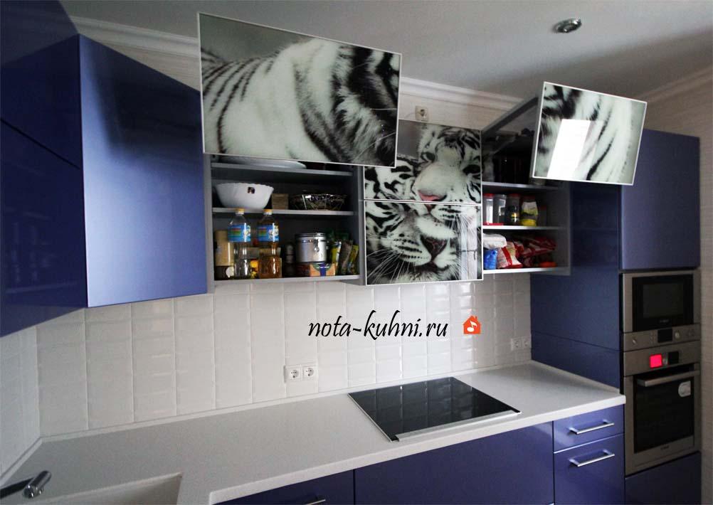 кухни с фотопечатью от производителя