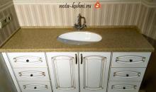 мебель для ванной комнаты с патиной