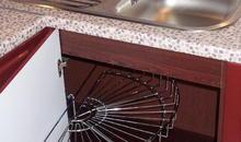 Выдвижная сетка хром для углового стола