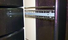 Двухъярусная выдвижная корзина хром 150 мм