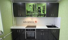 Кухни мдф эмаль с фотопечатью Москва