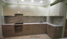 Кухни  мдф эмаль и шпонированные фасады