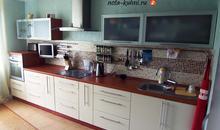 Кухни МДФ  эмаль в стиле модерн